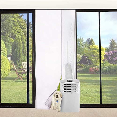 Daiwen Cubierta Aislante para Puerta Aire Acondicionado Portatil Sellado de Puerta Aire Acondicionado 210x90cm, para Máquinas de Aire Acondicionado Portátiles