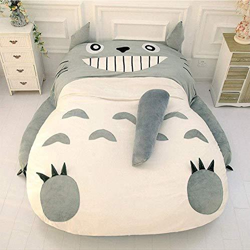 KITCHEN Totoro Matelas Tatami Simple et Double Lit Coussin de Matelas Géant Totoro Coussin de Matelas en Peluche Coussin Tatami Pouf,120 * 80cm