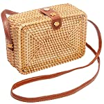 Boho Wicker Bag