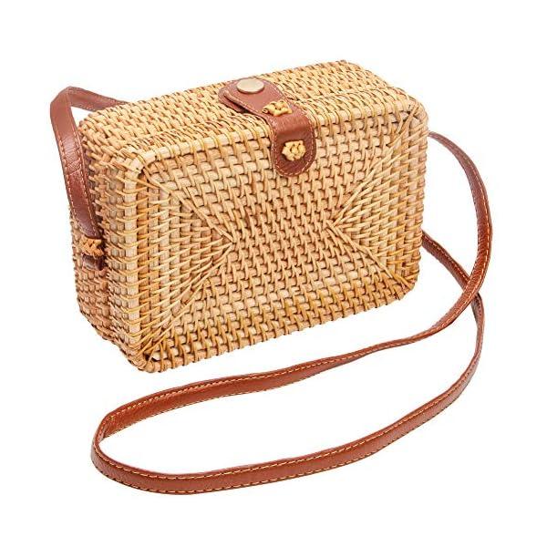 Boho Wicker Bag