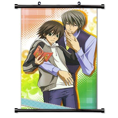 Junjou Romantica Anime Fabric Wall Scroll Poster (16 x 24) Inches.[WP]-Junjou-8