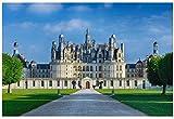 YsKYCp Puzzle 1000 Piezas,para Adultos Castillo De Chambord Chateau De Chambord para Amigo Niño Familia