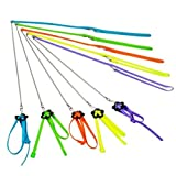 Anti-bite Adjustable Harness and Leash for Bird Parrot African Greys Cockatoo Macaw Ringneck Parakeet Cockatiels Sun Conure Amazon