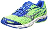 Mizuno Men's R638B51 Wave Catalyst Green/Silver Running Shoes-9 UK/India (43 EU) (J1GC163304)