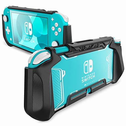 Mumba handvat case voor Nintendo Switch Lite hoes [Blade Series] TPU case robuuste beschermhoes compatibel met Switch Lite console 2019 editie