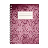 WIREBOOKS Notizbuch | Notizblock | Notizheft | Spiralblock 5030 DIN A5 120 Seiten 100g Papier blanko