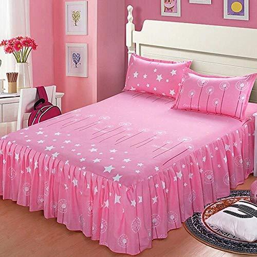 ChileYile Colcha Antideslizante CAMADO FODAJE FODAJE Pieza Hoja DE Pieza DE Pieza FOURSAL Universal Doble Doble Bed Regalo REGALO-Y150 * 200 cm (3pcs)