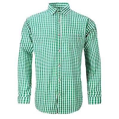 Alay&me Men's German Bavarian Oktoberfest Stylish Long Sleeve Slim Fit Shirt