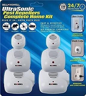 Bell + Howell Ultrasonic Pest Repeller Home Kit (Pack of 6)
