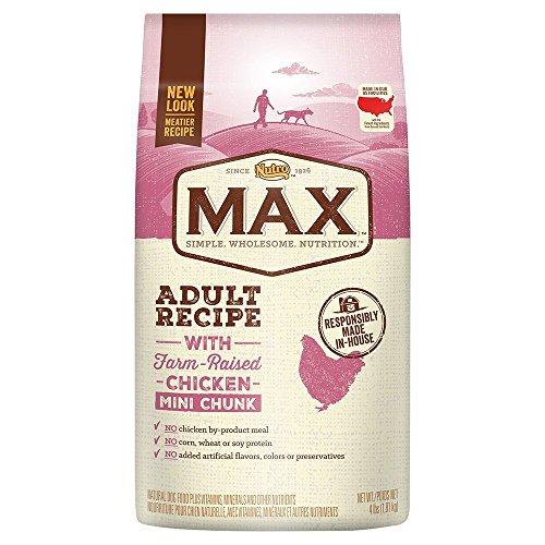 Nutro Max Adult Mini Chunk Dry Dog Food With Farm Raised Chicken