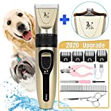 Wimypet Dog Clippers Professional Electric Pet Grooming Kit,Blade for Delicate Areas USB Rechargeable