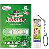 30M Nasal Inhaler Key Chain | Patented | Ayurvedic Tulsi Nasya Inhaler Key Chain For Asthma Sinus...