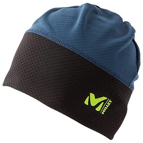 Millet - Pierra Ment' Beanie M - Bonnet de Ski Homme - Ski de randonnée, Running - Noir/Bleu