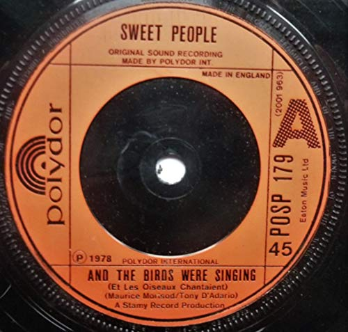 Sweet People Et Les Diseaux Chantaient 7