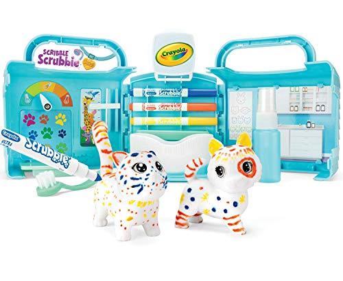 Crayola Scribble Scrubbie Pets Vet Animal Toy Set Age 3+