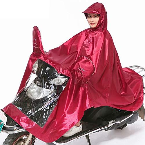 Scootmobiel Regenjas Motor Waterdichte poncho, Regenjas voor veilig rijden Bescherm de gebruiker en de scooter tegen regen Reflecterende kraan Veilig helder