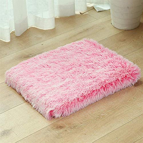 HCMNME Deluxe Soft Cat Bed, Cat Bedding Pet Bed Mat -Dog Bed Large Size- Water-Resistant Washable Dog Mattress Suitable for Domestic Pets Puppy Sofa,for Cats and Dogs