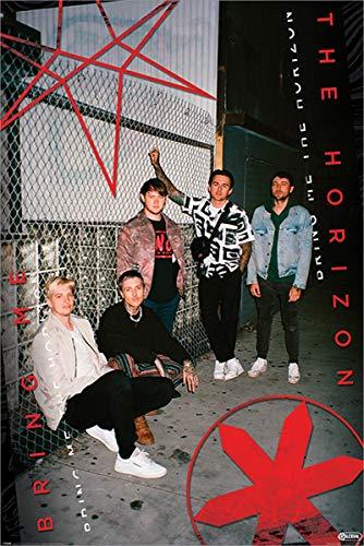 Bring Me The Horizon Laminiert Red Eye Maxi Poster 61 x 91,5 cm