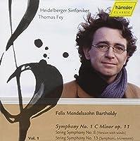 Mendelssohn: Symphony 1, String Symphony 8, 13 (2007-02-13)