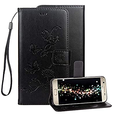 Embossed Leather Case for Samsung Galaxy S7,
