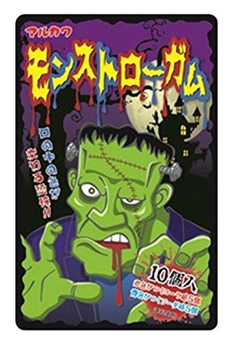 丸川製菓 モンストローガム 10個×10袋