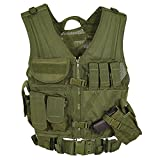 VooDoo Tactical 20-8112004330 Men's Msp-06 Entry Assault Vest, Large-XX-Large, Olive Drab