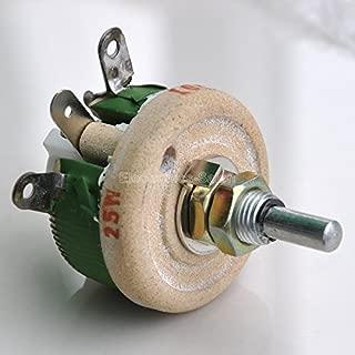 Electronics-Salon 25W 30 OHM High Power Wirewound Potentiometer, Rheostat, Variable Resistor.