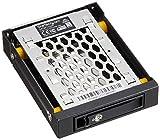 StarTech 2.5インチSATA対応ハードディスクドライブ用リムーバブルラック 3.5インチベイ内蔵型モバイルラック 防振機能 SATBP125VP