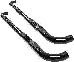 "Ionic 3"" Black (fits) Toyota FJ Cruiser Only Nerf Bars Side Steps (233000)"
