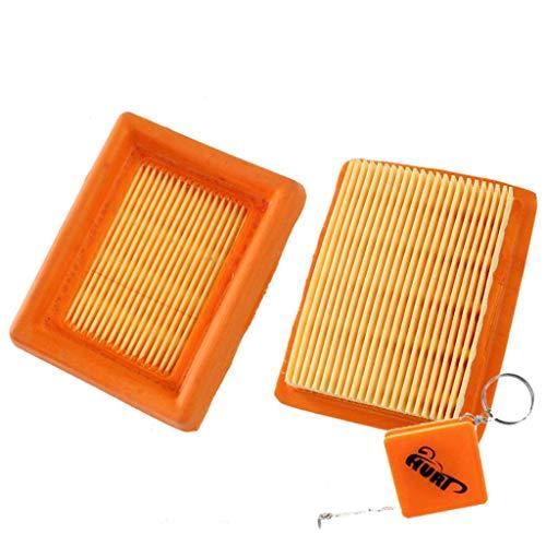 HURI 2x Filtre à air 4134 141 0300 pour Stihl TIHL FS120 FS200 FS250 FS300 FS350 FS400 FS450 Coupe-bordure