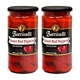 ROASTED RED PEPPERS IN WATER - Botticelli's roasted red pepper contains only natural ingredients such as red peppers, water, salt and citric acid to maintain its natural flavor. ADD SMOKY & TANGY FLAVOR TO ANY DISH - With our sweet roasted red bell p...