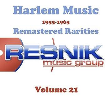 Harlem Music 1955-1965 Remastered Rarities Vol. 21