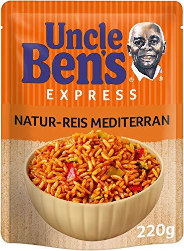 Uncle Ben's Express-Reis Naturreis Mediterran, 220g