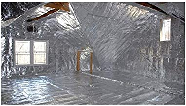 AES Industries 4 x25 EZ Cool Car Vehicle Insulation Kit Includes 100SqFt Insulation 25 Tape