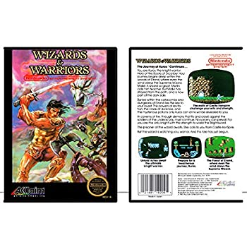 Wizards & Warriors | NES - Game Case Only