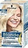 Blonde Ultra Aufheller, Haarfarbe Eisblond L100, 175 ml