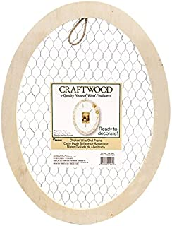 Best unfinished oval picture frames Reviews