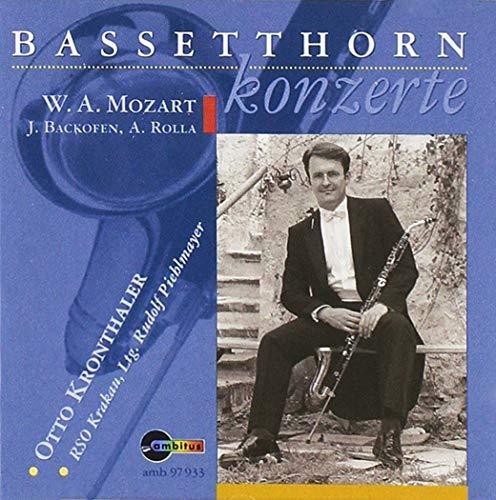 Bassetthorn Konzerte