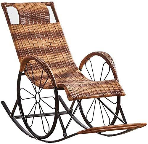Schommelstoel Rotan Buitenzon Schommelstoel Zonnebank Ligbed Ligstoelen Ligstoel Sling Chair Tuinstoel.