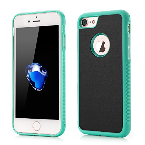 VAPIAO iPhone 6, 6s Hülle Anti Gravity Schutzhülle [selbstklebend] Case Bumper TPU Backcase in grün