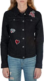 Bioworld Harley Quinn Black Juniors Denim Jacket
