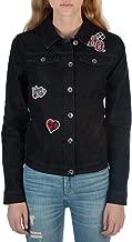 Bioworld Harley Quinn Black Juniors Denim Jacket