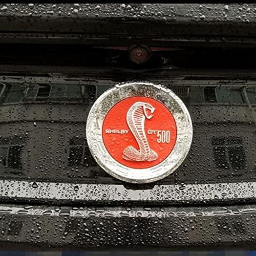 adhesivo insignia Etiqueta personalizada Pegatina trasera del tronco trasero Compatible con Ford Mustang 5.0 Roush Shelby GT 500 COBRA Laguna Seca 2.3T 2.3L Mustang 3D Insignia Insignia Etiqueta