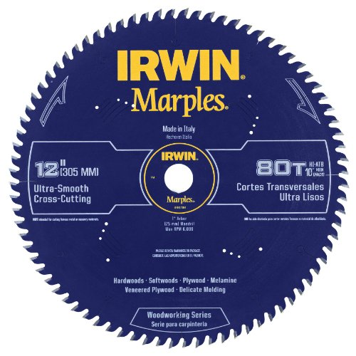 IRWIN Tools Marathon Tisch- / Kreissägeblatt aus Hartmetall, 1807384