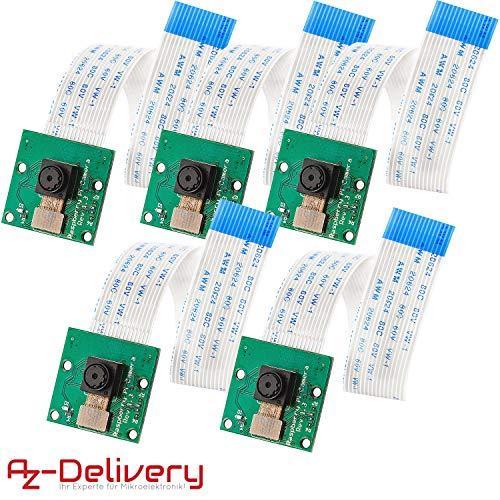 AZDelivery 5 x Camera voor Raspberry Pi met eBook