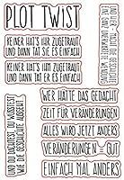 DIYスクラップブッキングフォトアルバム用ドイツ透明クリアシリコンスタンプシール装飾クリアスタンプシートA905