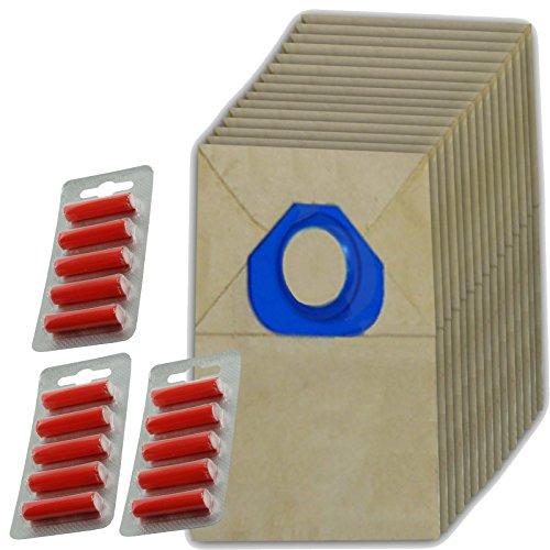 Spares2go papier Sacs à poussière pour aspirateur Nilfisk (lot de 15 + 15 désodorisants)