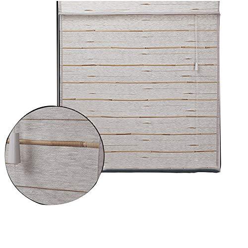 FUFU Bambus-Rollo Bambusrollo, Reed Curtain Partition Vorhang Wanddekoration Retro for Innen- und Außenbereich, Raumteiler, Wanddekoration für Fenster und Türen (Size : 60