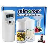 Duftspender Starterset Praxis inklusive Duftgerät sowie zwei Raumsprays zur Praxisbeduftung und Geruchbeseitigung mit natürlichen Düften