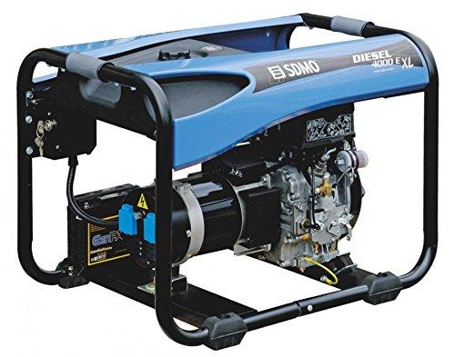 GENERADOR ELECTRICO | PORTATIL | SDMO | DIESEL 4000 E XL C5 | MOTOR KOHLER DIESEL. | MONOFASICO
